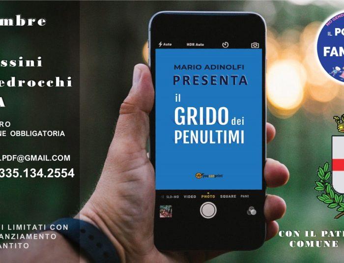 "Mario Adinolfi ""Il Grido dei Penultimi"""